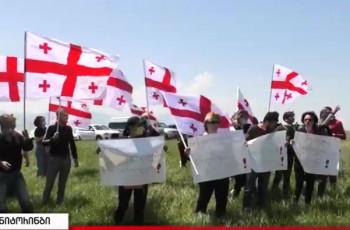 საქართველოში გავრილოვები უნდა დასრულდეს - პროტესტი ქარელის მუნიციპალიტეტში 13.05.2021