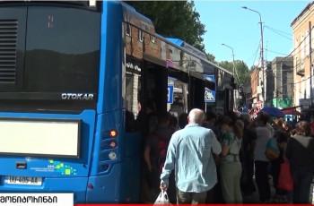 გორელებს საღამოობით მხოლოდ ერთი ავტობუსი მოემსახურება - როგორ იმგზავრებს 48 143 მოსახლე 18.05.2021