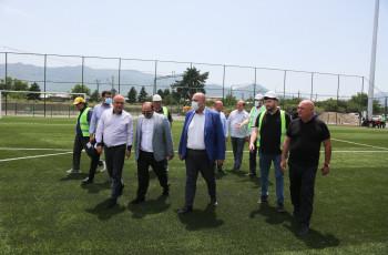 ხაშურში საფეხბურთო სტადიონის მშენებლობა 2021 წლის შემოდგომაზე დასრულდება