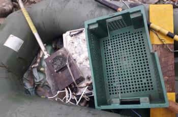 კასპის მუნიციპალიტეტის სოფელების სიახლოვეს უკანონო თევზჭერის 2 ფაქტი გამოავლინეს