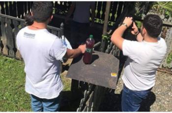 ხარაგაულში, სასაფლაოზე გადაღებული ფოტოების ავტორები 2 000 ლარით დააჯარიმეს